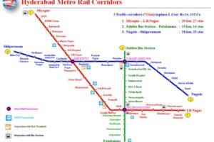 Hyderabad Metro Stations List