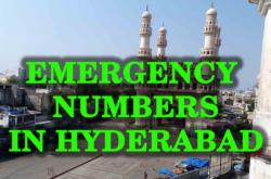 emergency numbers in hyderabad